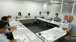 KNS関東支部ミニ井戸端会議の様子(中小機構 会議室)